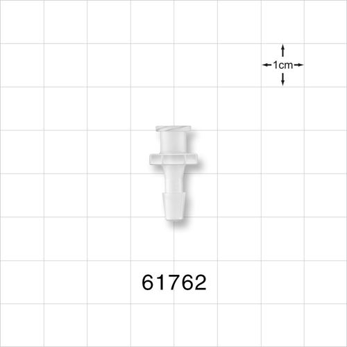 Female Luer Lock to Barb Connector - 61762