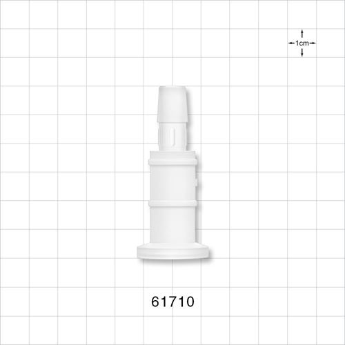 Sanitary Flange, Barbed, Natural - 61710