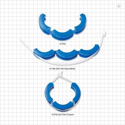 SaniSure® Clamp, Blue, 10/Bag - 61782