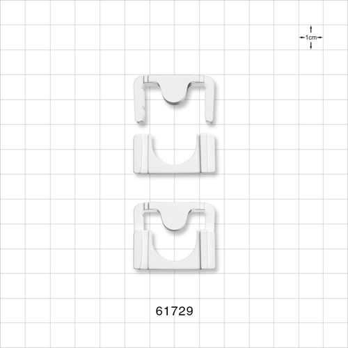 Clipster® Aseptic Disconnector, White
