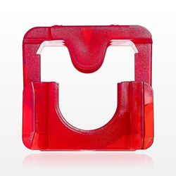 Clipster®Aseptic Disconnector, Red, 10 Pack - 61728